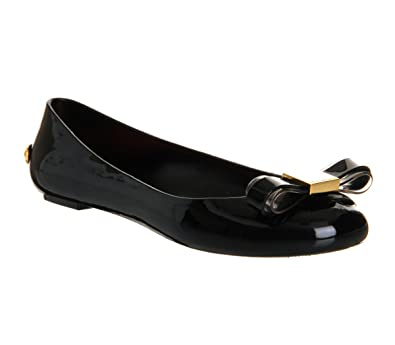all black ted baker shoes