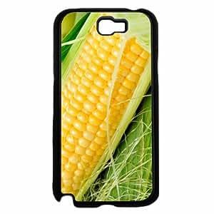 Bright Yellow Corn - Phone Case Back Cover (Galaxy Note 2 - TPU Rubber Silicone)