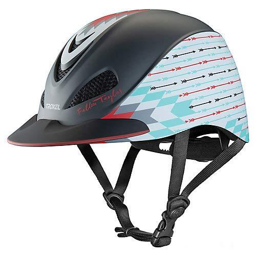 Troxel Fallon Taylor Horseback Riding Helmet, Grey Firestorm, Small (6 5/8-7) (Fallon Grey)