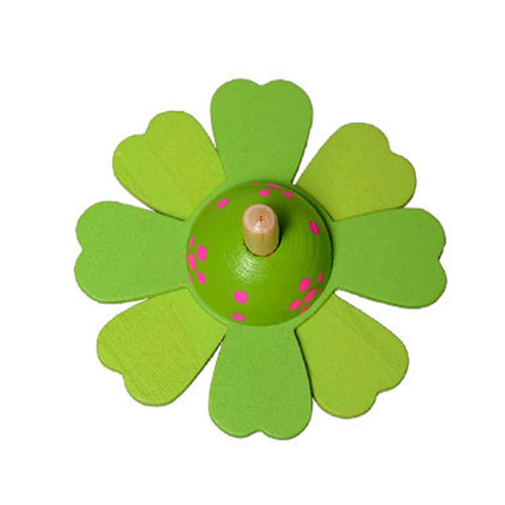 Farbenfroher Bemalung Kreisel Spielzeug Holzkreisel f/ür Kinder Mitgebsel Geschenk Geburtstag Kinder Party F/üllung Garden Party Demarkt 1 St/ück Kreisel aus Holz