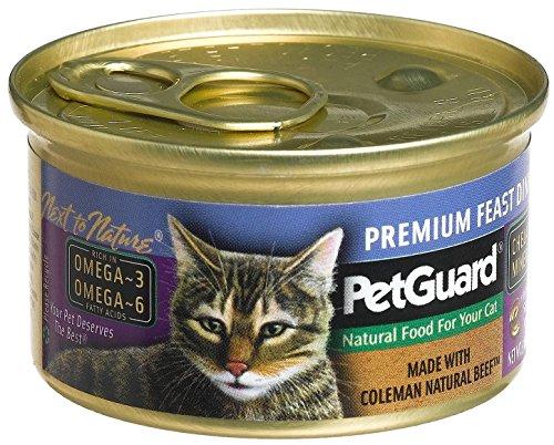 PetGuard Premium Feast Dinner Cat Food, 3 Ounce Can