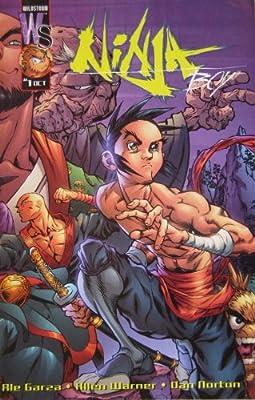 NINJA BOY #1, October 2001: Allen Warner and Ale Garza ...