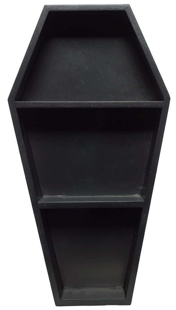 Sourpuss Coffin Shelf Black