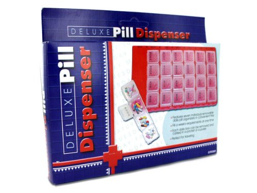 Deluxe Pill Dispenser - Pack of 108