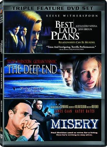 Triple Feature DVD Set: Best Laid Plans, The Deep End, Misery (James Laid Box Set)