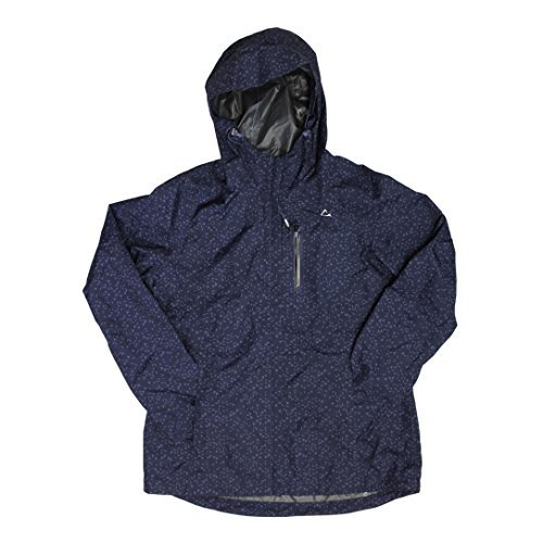 Paradox Waterproof & Breathable Women's Rain Jacket Navy Medium Womens Jacket Coat