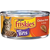 Purina Friskies Meaty Bits Chicken Dinner in Gravy Wet Cat Food - (24) 5.5 oz. Cans