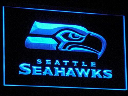 B242(a)-b Seattle Seahawks Bar Pub Neon Light Signs