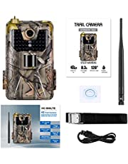 DishyKooker Hc-900Lte 4G Outdoor Camera Trail Camera Mms/Sms/Smtp/Ftp Ip65 Wild Camera 44 Led Jungle camouflage EU standard 4G