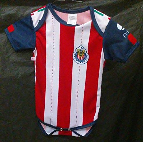 new-club-deportivo-guadalajara-chivas-newborn-onesie