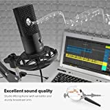 FIFINE Studio Condenser USB Microphone Computer PC
