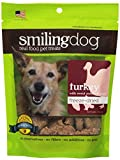 Herbsmith Smiling Dog Freeze Dried Turkey with Sweet Potato and Ginger Treats for Dogs and Cats, 2.5-Ounce