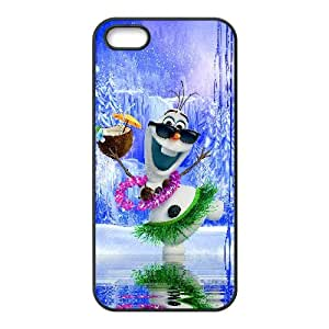 Olaf iPhone 5 5s Cell Phone Case Black xlb-223032