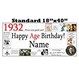 1932 PERSONALIZED BANNER by Partypro