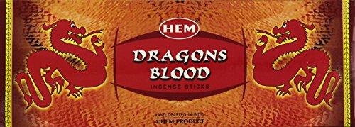 - Hem Dragons Blood, Incense, 120 Sticks Box