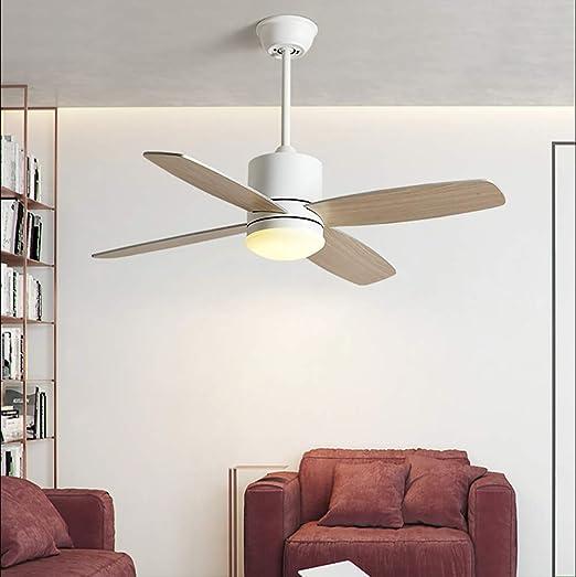 YBCD - Ventilador de Techo LED para habitación de niños (106,7 cm ...