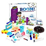Kids Science Set - Over 60 Experiments Kit, How-to DVD and Instruction Manual
