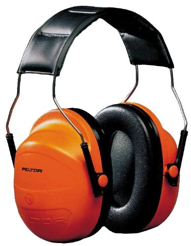 Earmuffs Viz Hi (3M H31A Peltor Hi-Viz Over-the-Head Earmuffs NRR 24dB)