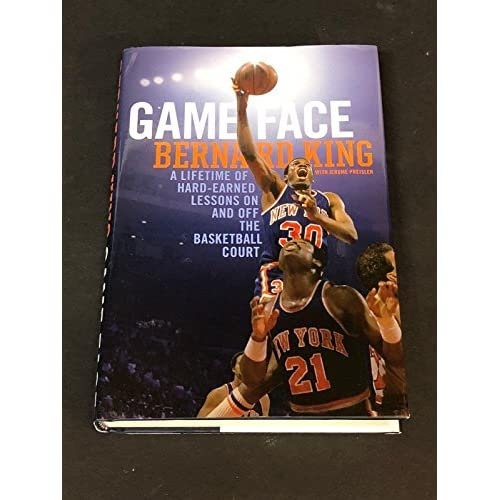 new style b0d24 f86b9 Bernard King New York Knicks New Jersey Nets Game Face HOF ...