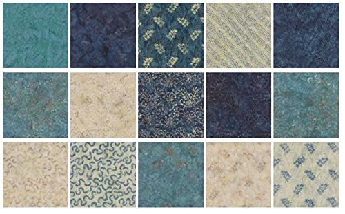 quilt fabric blue - 6