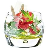Atoll Serving Bowls 8.75oz / 250ml - Set of 6   Serving Dishes, Appetiser Dishes, Dessert Dishes, Durobor Glassware