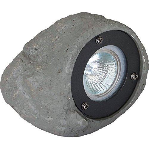 Portfolio 20-Watt Gray Low Voltage Halogen Spot Light (Halogen Landscape Spot Light)