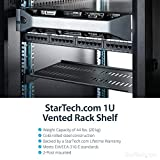 StarTech.com 1U Vented Server Rack Cabinet Shelf