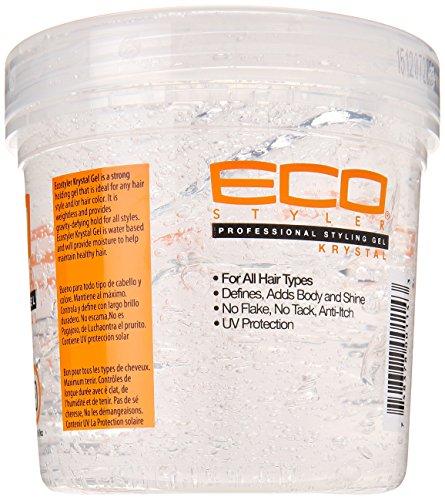 Eco Styler Krystal Styling Gel 16 Ounce Natural Hair