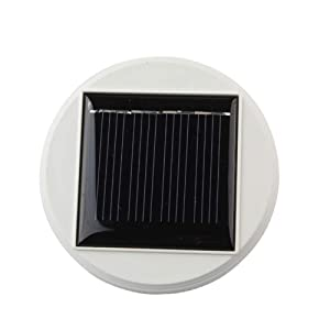 Solar Panel Top Replacement for Table Lights, Diameter is 3.15 Inches