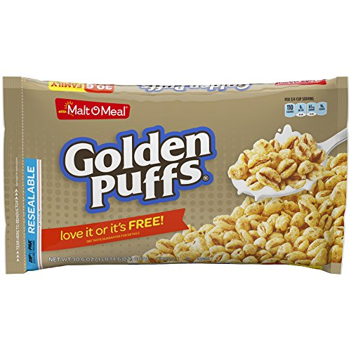 uffs Breakfast Cereal, 30.6 Ounce Breakfast Cereal Bag (Pack of 6) ()