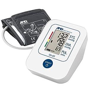 A&D UA-611 Tensiómetro de brazo digital, lecturas de presión arterial rápidas, cómodas y precisas, validado clínicamente 4