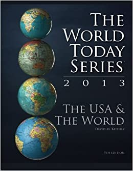 Book The USA and The World 2013, 9th Edition (World Today)