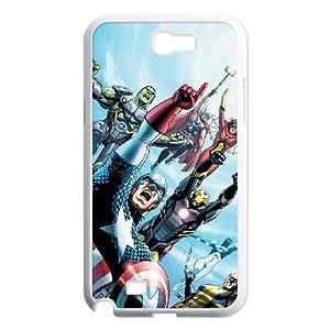Samsung Galaxy Note 2 N7100 Phone Cases White Marvel comic BOK478370