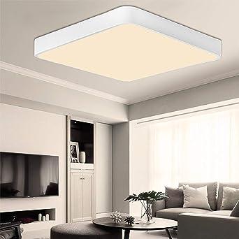 ETiME 50cm LED Deckenleuchte 3240LM Deckenlampe LED 36W Wohnzimmer ...
