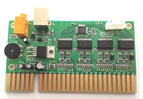 USB to JAMMA Converter Board, Emulates Gamepad, Interface to 2 USB PC Joystick Jamma / Mame