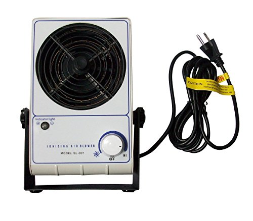 Ionizing Air Blower Ionizer Bench Top ESD Static Electricity Electrostatic Elimination Eliminator