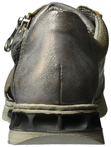 41 Altgold Sneakers Fango Altsilber M2840 Grey Damen Grau Rieker silver Stone axgpPSgv