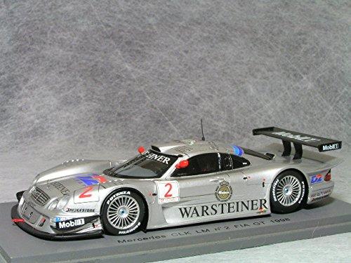 1/43 Mercedes CLK LM n2 FIA GT 1998 #2 (シルバー) S0165