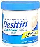 DESITIN Rapid Relief Diaper Rash Cream 16 oz (Pack of 7)