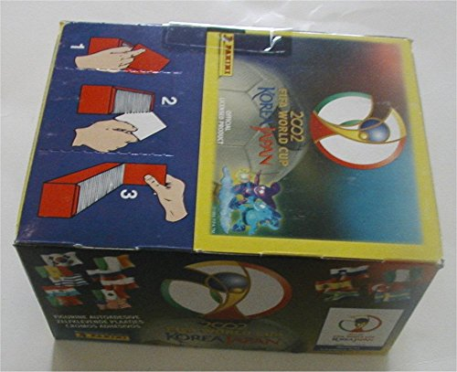 - Panini 2002 World Cup Korea/Japan Stickers Box. 100 Packets. Scarce!