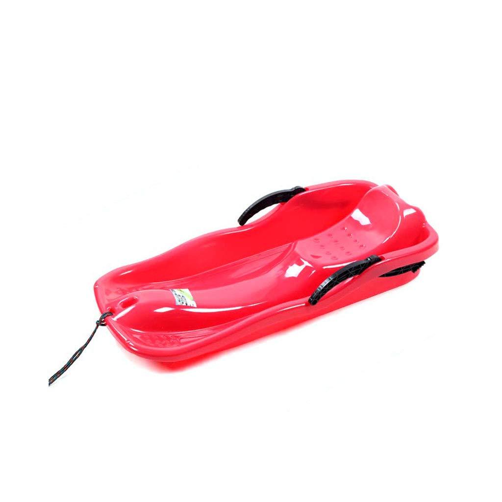 TLTLXQ Traîneau, Épaississement De Snowboard Planche De Ski Résistant À l'usure Planche De Sable Luge De Bateau De Ski Multifonctions