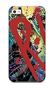 New Snap-on ZippyDoritEduard Skin Case Cover Compatible With Iphone 5c- Justice League