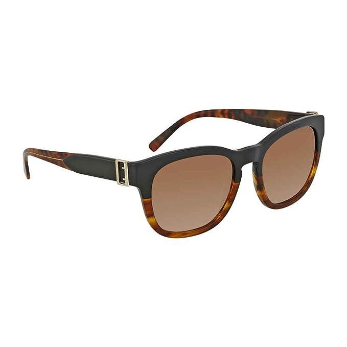 Burberry 0Be4258 367913 54 Gafas de Sol, Negro (Black/Havana ...