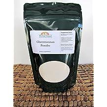 Glucomannan Konjac Powder 1 LB or 16 OZ - Pure & Natural - Non Gmo - Free Shipping