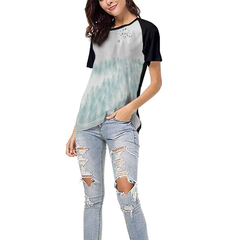 2 S-XXL T Shirt Female Tight DayOn Graphic T-Shirt,Beautiful Rose