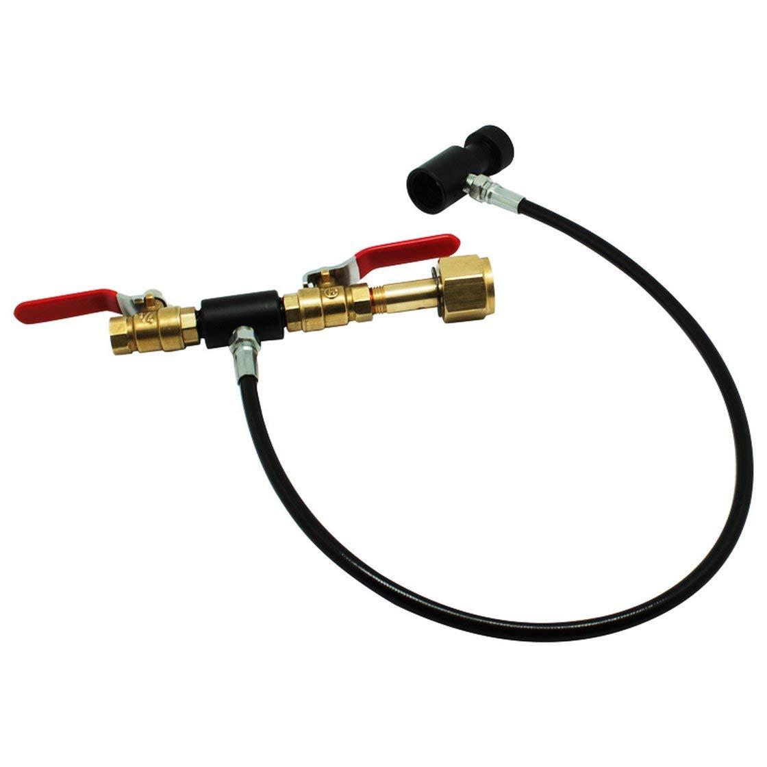 Hermosairis Bef/ülladapter f/ür Soda Stream-CO2-Tank//Zylinder-Nachf/üllstation mit Anschluss Rone Leben