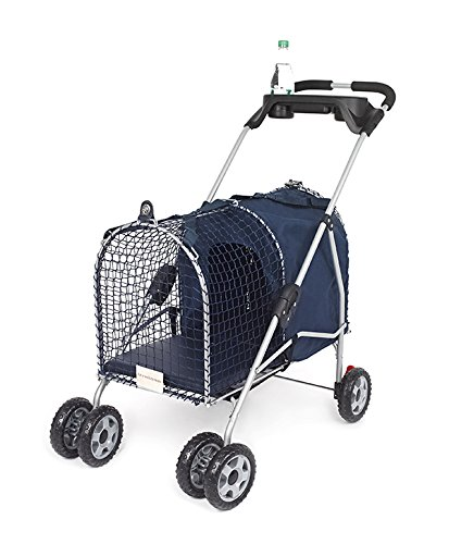 5th Ave Luxury Pet Stroller Blue (3 Pack) by Kittywalk