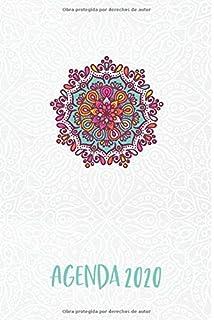 Agenda 2020: Mandala Azul Planeador Anual Mensual Semanal de ...