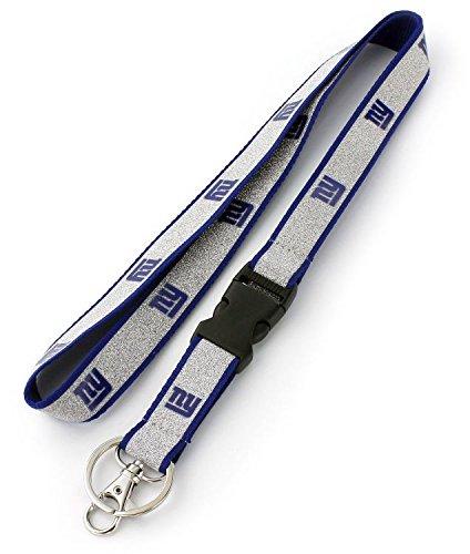 NFL New York Giants Sparkle Lanyard, Blue ()