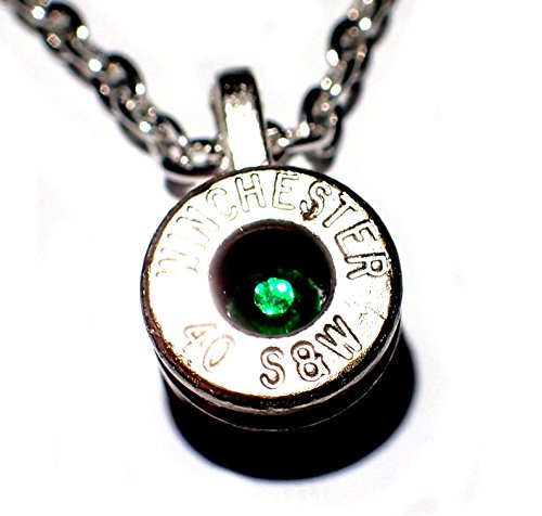 40 cal bullet necklace - 4